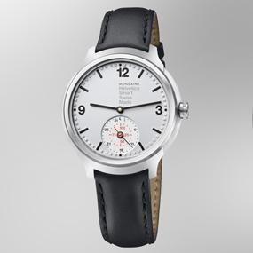 Mondaine Helvetica Smart 44mm MH1.B2S80.LB Reloj de Pulsera ...