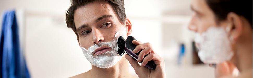 Philips Serie 9000 S9531/31 - Máquina de afeitar con cabezales de 8 direcciones, seco/húmedo, 3 modos y sistema de limpieza SmartClean, perfilador de barba y funda de viaje, negro: Amazon.es: Salud y