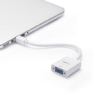 AmazonBasics - Adaptador de pantalla de Mini DisplayPort a VGA ...