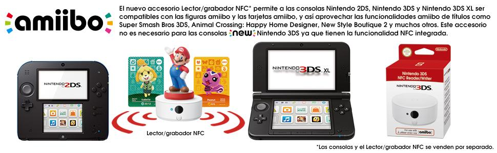 Nintendo 3DS - Consola XL, Color Rojo Y Negro: Amazon.es ...
