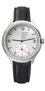 Mondaine Helvetica Smart 44mm MH1.B2S10.LB Reloj de Pulsera Cuarzo ...