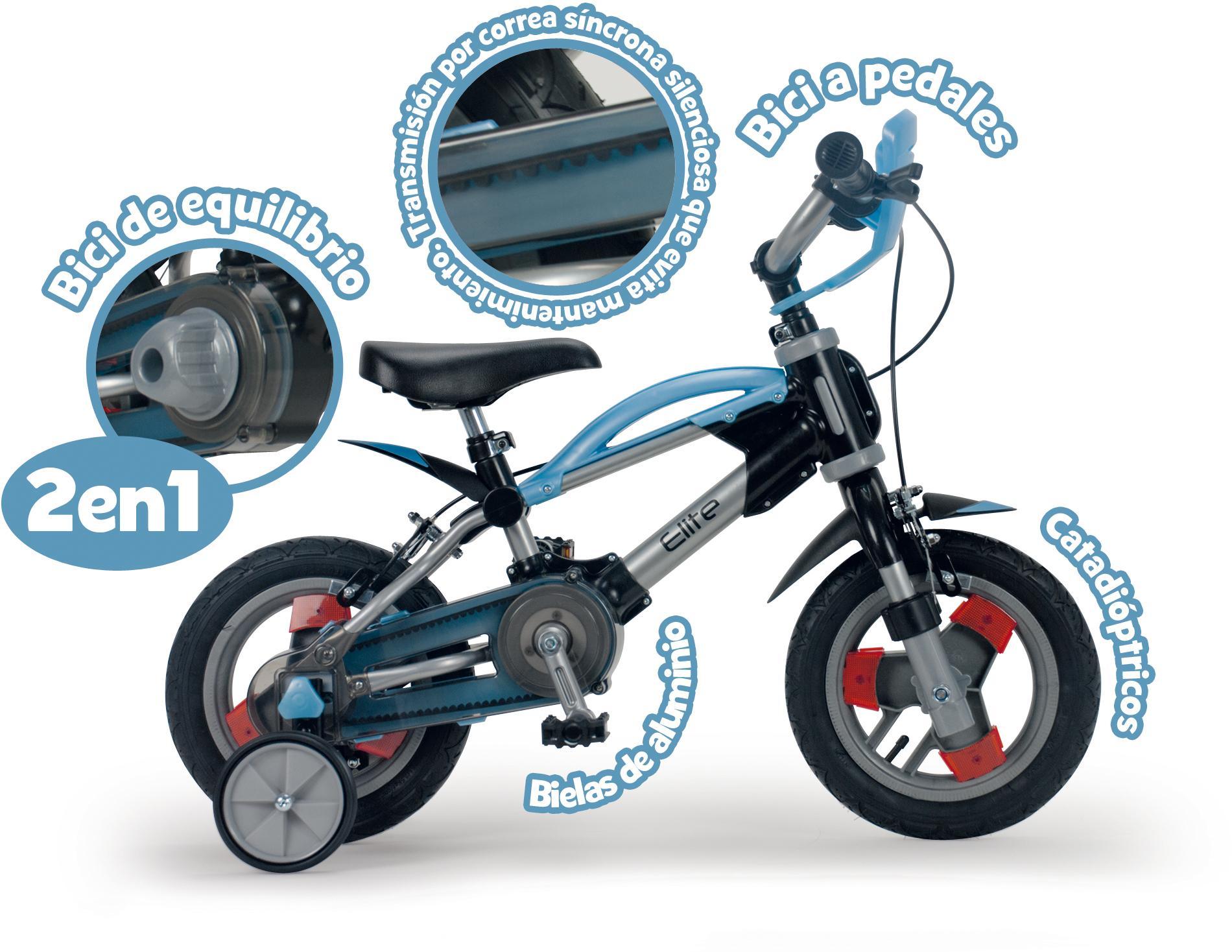 Ampliar. Está diseñada para empezar siendo una bicicleta ...