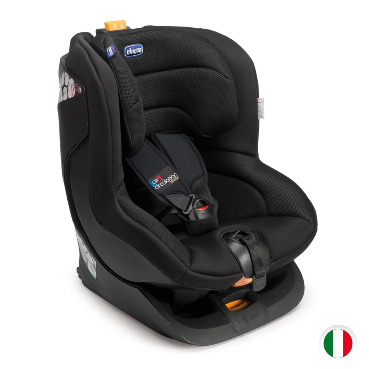 Chicco oasys 1 isofix silla de coche grupo 1 color for Silla para coche nino 4 anos
