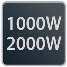 Rowenta Classic 2000 SO2210 Potencia máxima hasta 2.000W