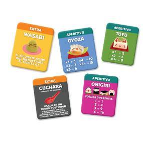 sushi go party juego de mesa juego de cartas