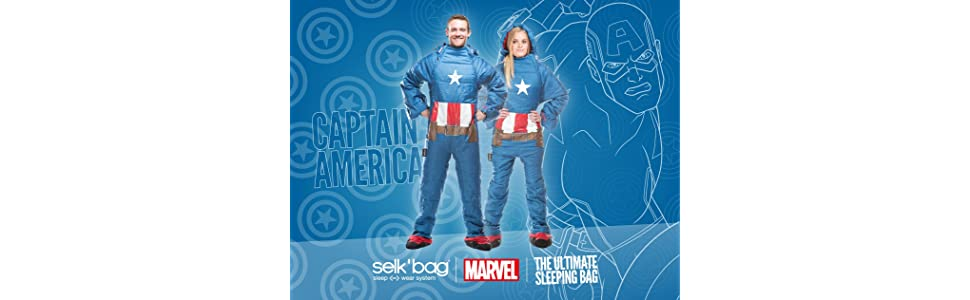 Saco de dormir Captain America by Selk´bag