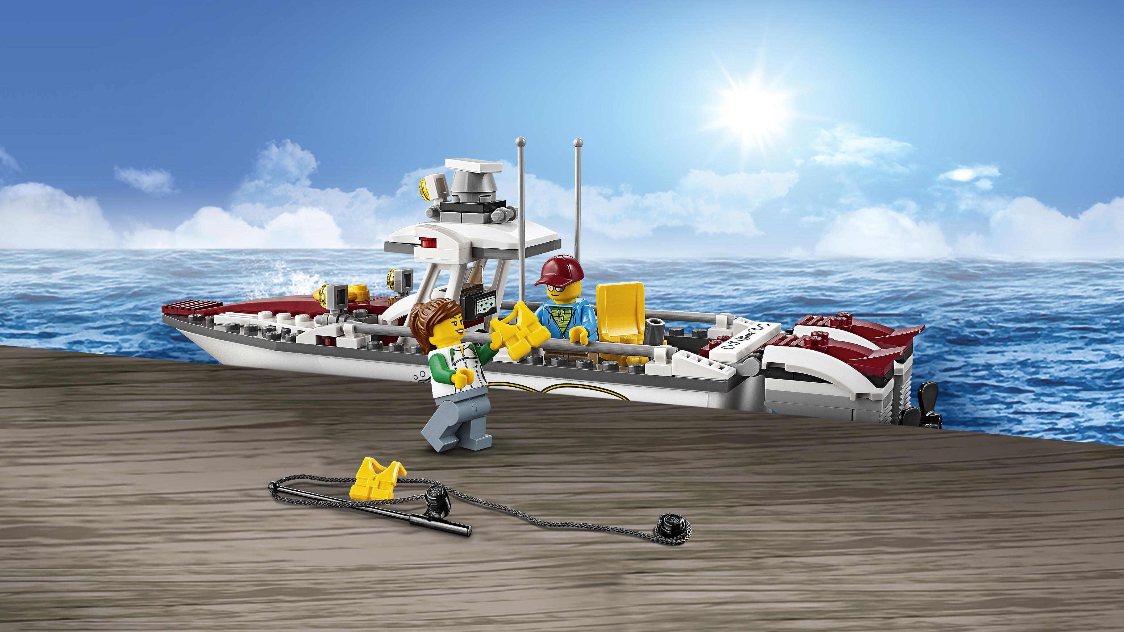 LEGO City - Barco de Pesca (60147): Amazon.es: Juguetes y