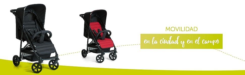 Silla compacta Silla deportiva – Plegado compacto y sencillo + posición tumbado niño