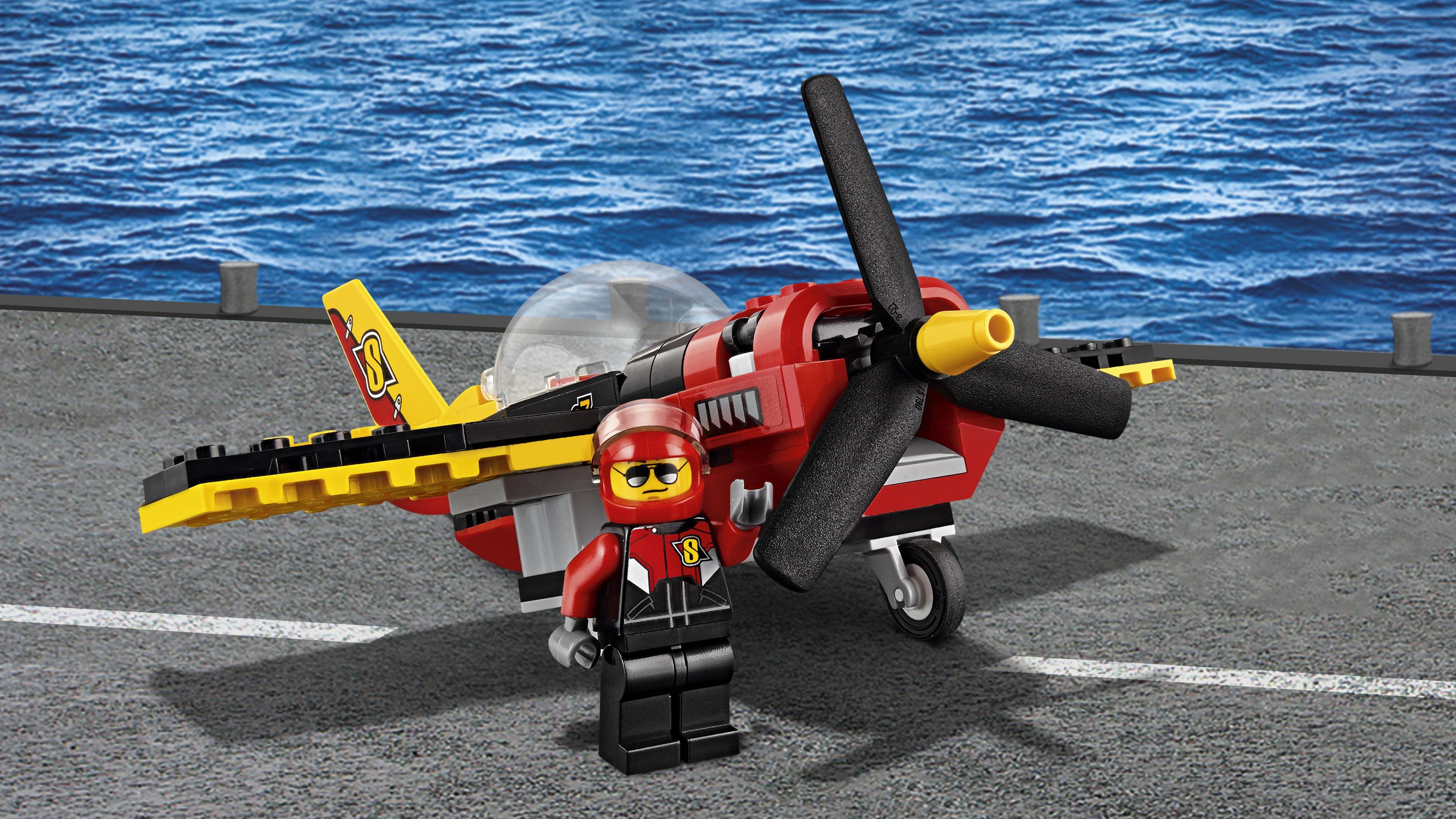 LEGO City - Avión de Carreras (60144): Amazon.es: Juguetes