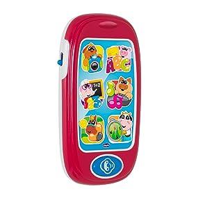 Chicco - Smartphone bilingüe con 24 Actividades, números y