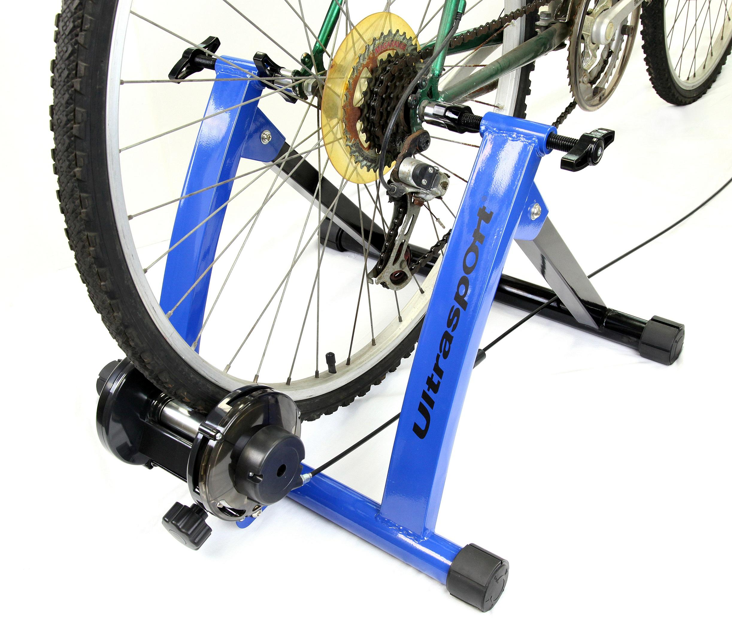 Ultrasport Rodillo para bicicleta con y sin cierre rápido