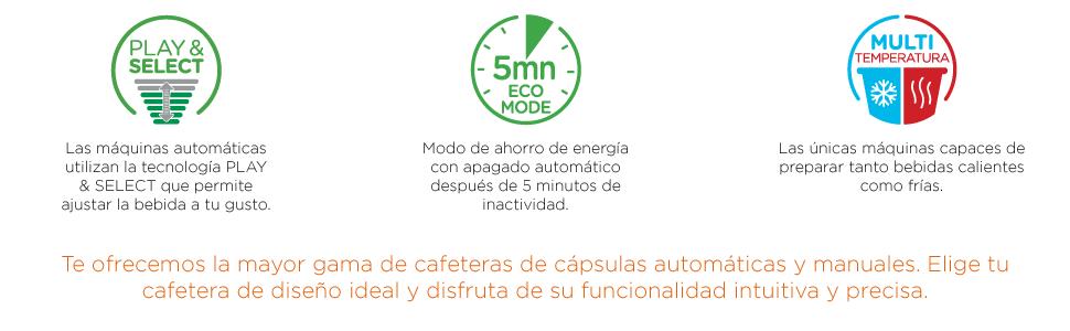 KRUPS OBLO CUSTO - Cafetera 15 bares Nescafé Dolce Gusto: Amazon ...