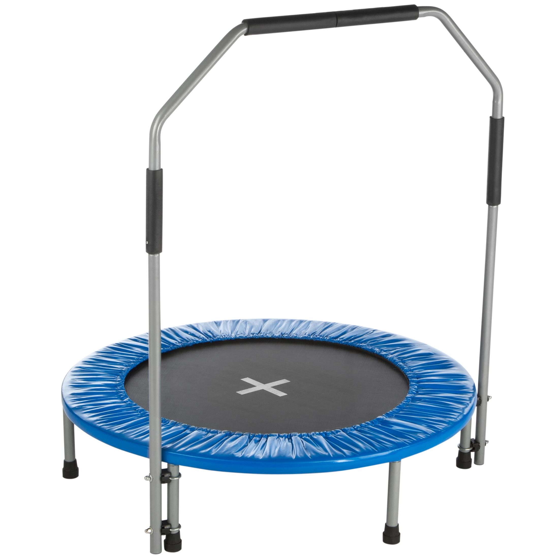Ultrasport Jumper - Cama elástica de Fitness con agarradera, 96 cm ...