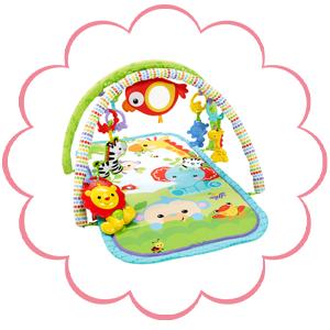 Fisher-Price - Gimnasio musical animalitos (Mattel CHP85)