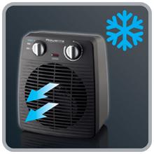 Rowenta Classic 2000 SO2210 Función ventilador aire frío