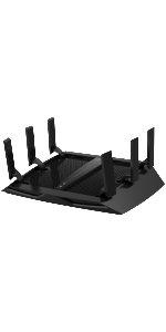 Router WiFi tribanda smart AC gigabit gaming streaming HD multimedia maximo rendimiento