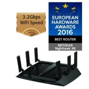 route, R8000, netgear, Nighthawk X6, WiFi, streaming, gaming, tribanda