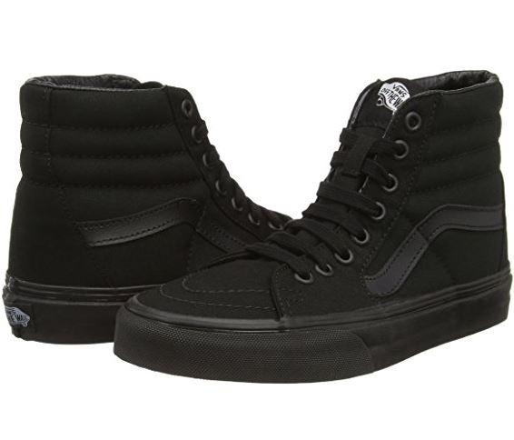 vans old school altas black