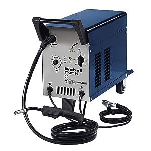 Einhell BT-GW 150 - Soldador hilo (potencia 690 W, flujo de descarga máx. 17.500 l/h, altura de emisión máx. 9 m, profundidad de inmersión máx. 8 ...