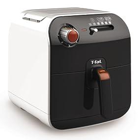 Tefal Fry Delight FX100015 - Freidora sin Aceite de 1400 W, 4 Modos de Cocción, para Freir, Grill, Asar y Hornear, Temporizador 30 Min, Cocina Sana, ...