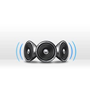 Sonido envolvente con estéreo 3D