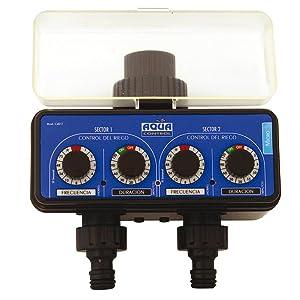 Aqua Control C4011 - Programador de Riego para Jardín