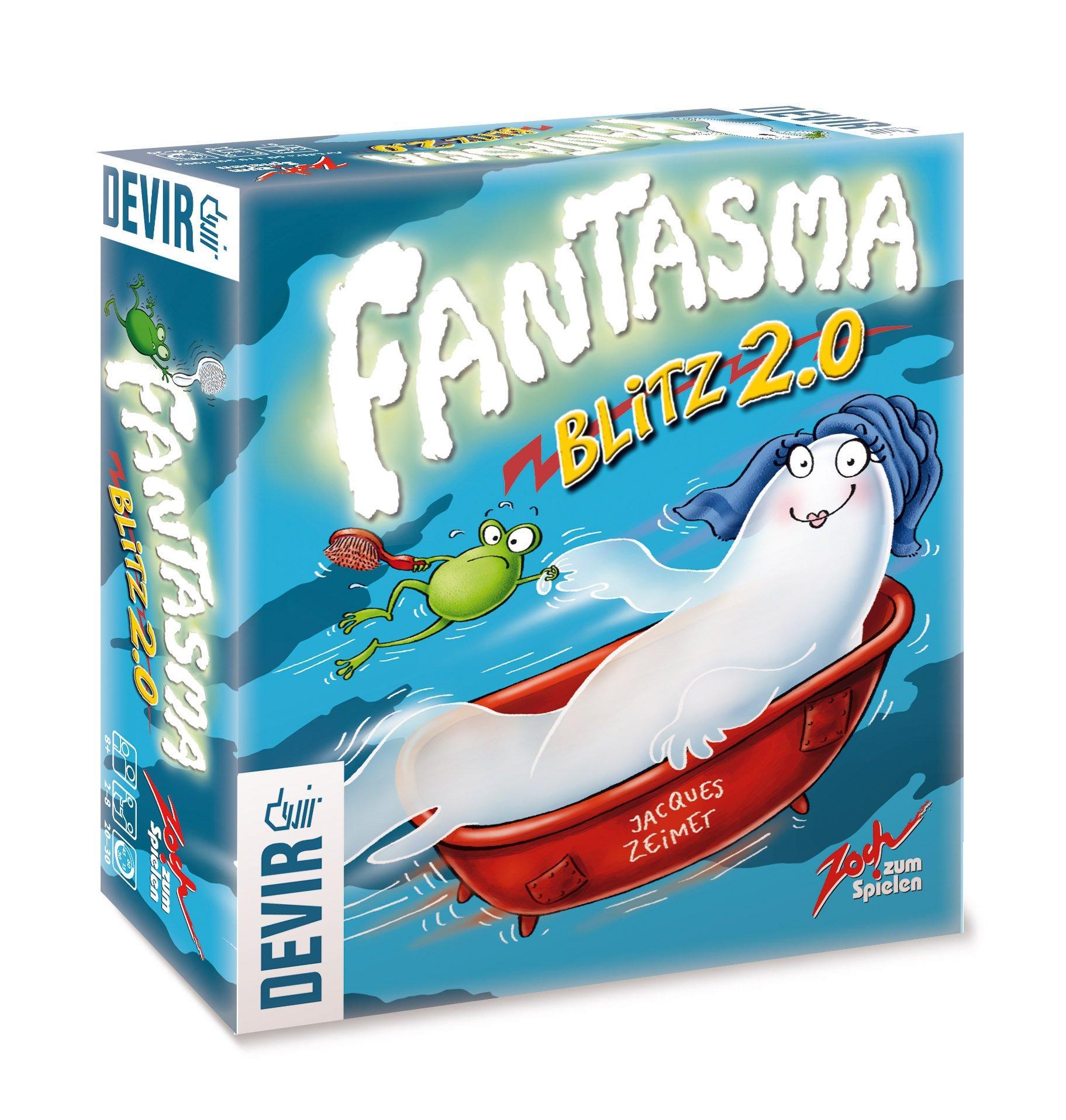 Devir - Fantasma Blitz 2.0, Juego de Mesa (BGBLITZ2): Amazon.es ...