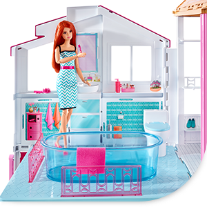 barbie supercasa mattel dly