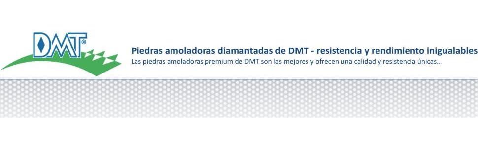 DMT WM8FC-WB Piedra fina y gruesa con base (8 pulgadas)