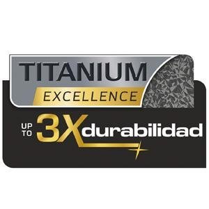 Tefal Expertise - Sartén de aluminio de 30 cm, antiadherente con extra de titanio, aptas para todo tipo de cocinas incluido inducción