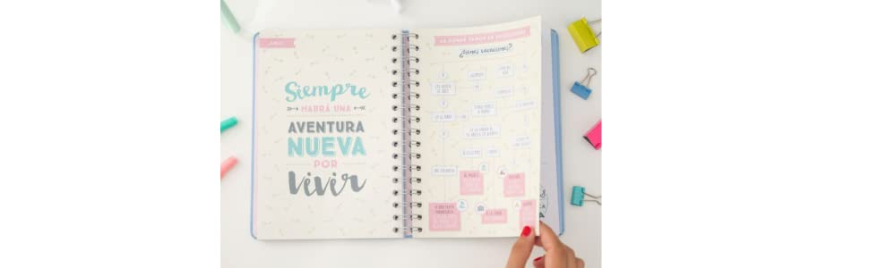 Mr. Wonderful - Agenda 2017, color azul
