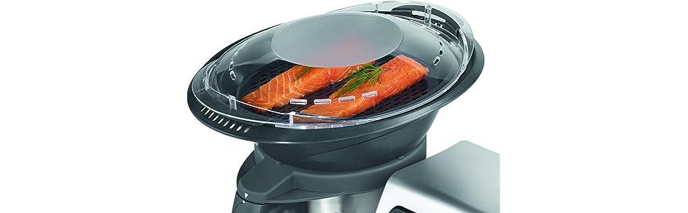 Proficook MKM 1074 - Robot de cocina con 10 funciones, 9