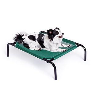 Cama para mascotas elevada y aireada de AmazonBasics, tamaño pequeño