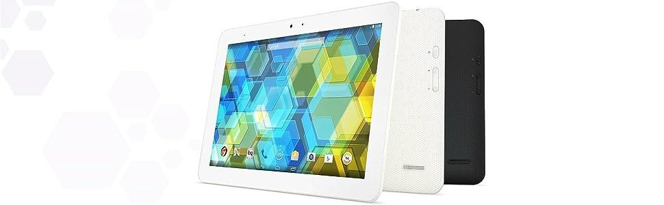 BQ Edison 3 - Tablet de 10.1 Pulgadas (WiFi y Bluetooth 4.0, 16 GB, 2 GB de RAM, Android KitKat 4.4), Negro