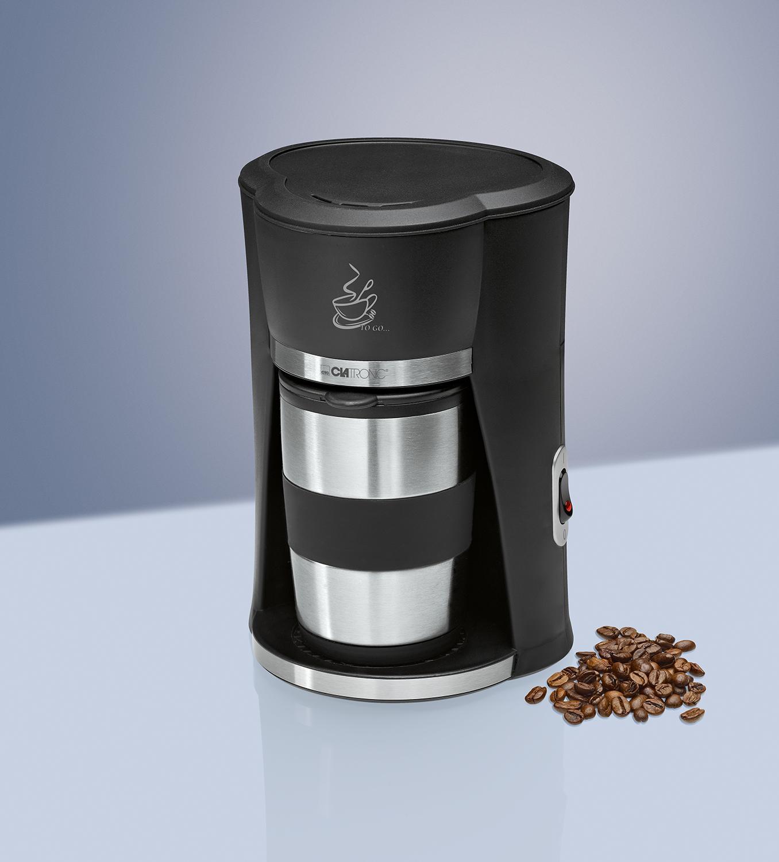 Clatronic KA 3450 Cafetera de goteo, capacidad 1 taza con termo ...