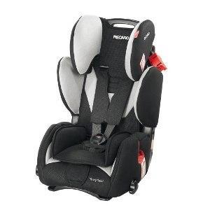 recaro young sport silla de auto negro gris oscuro