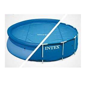 Intex 29024 - Cobertor solar para piscinas 488 cm de diámetro ...