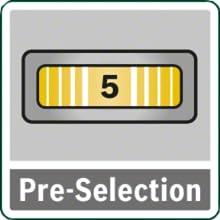 PTS 900, Sierra de calar, sierra de calar bosch, PST 900 BOSCH, Preselección revoluciones