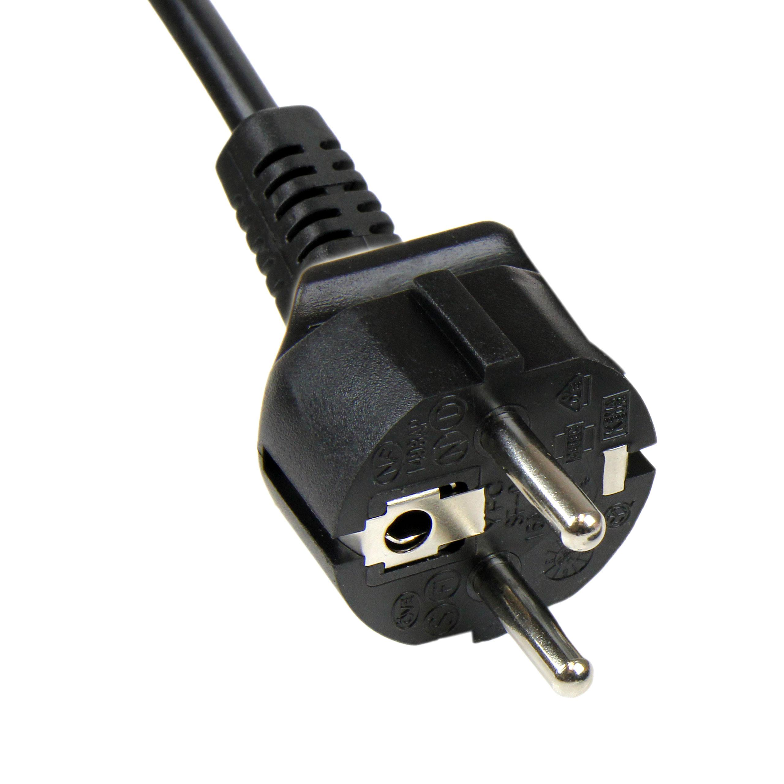 StarTech.com PXTNB3SEU1M - Cable de alimentación con 3