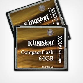 Kingston CF/32GB-U3 - Tarjeta de Memoria CompactFlash Ultimate de 32 GB, 600x