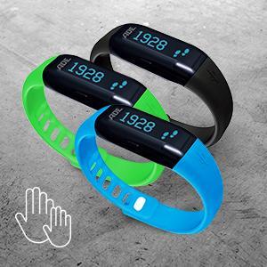 ADE Schrittzähler Adevital Aktivity, Aktivitätsmesser mit