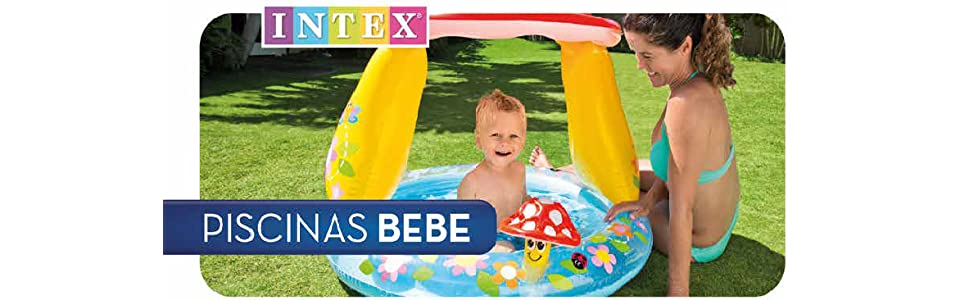 Intex Sunset - Piscina hinchable, 61 x 22 cm: Amazon.es: Juguetes ...