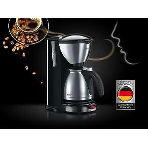Braun - Cafetera Eléctrica Sommelier KF 610: Amazon.es: Hogar