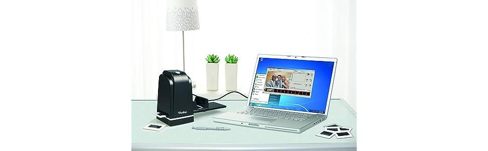 Rollei DF-S 300 HD - Escáner de Negativos y Diapositivas