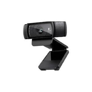 Logitech C920 HD Pro - Cámara Web Full HD (1080pm, sensor