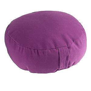 Ultrasport 331100000164 Cojín de meditación, Unisex Adulto, púrpura, Talla Única