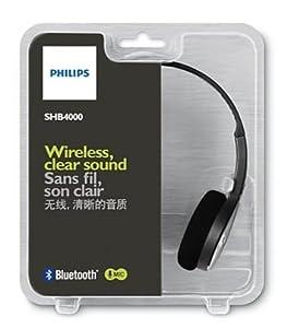 Philips SHB4000/00 - Auriculares de diadema abiertos Bluetooth (control remoto integrado)
