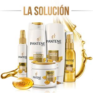Pantene Pro,V Aceite seco tratamiento con vitamina E Repara \u0026 Protege