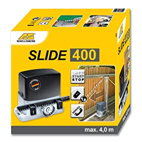 Schellenberg 60804 Slide, Motor para Puerta corredera, hasta un ...