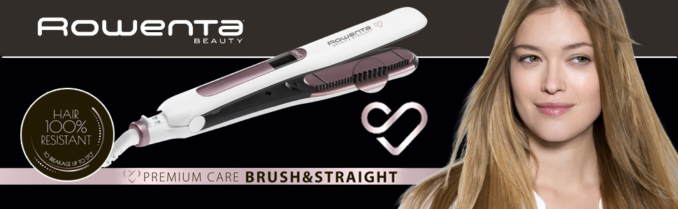 Rowenta Premium Care Brush & Straight SF7510F0 - Plancha de pelo ...